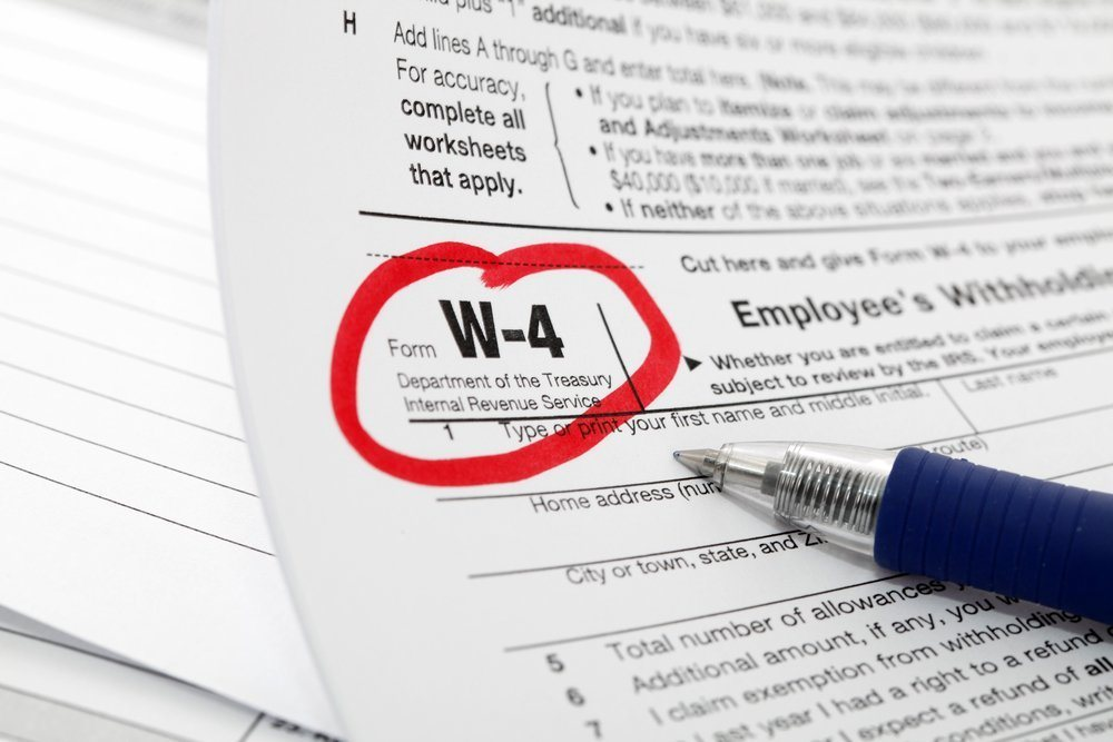 Update Your W-4 After a Life Change