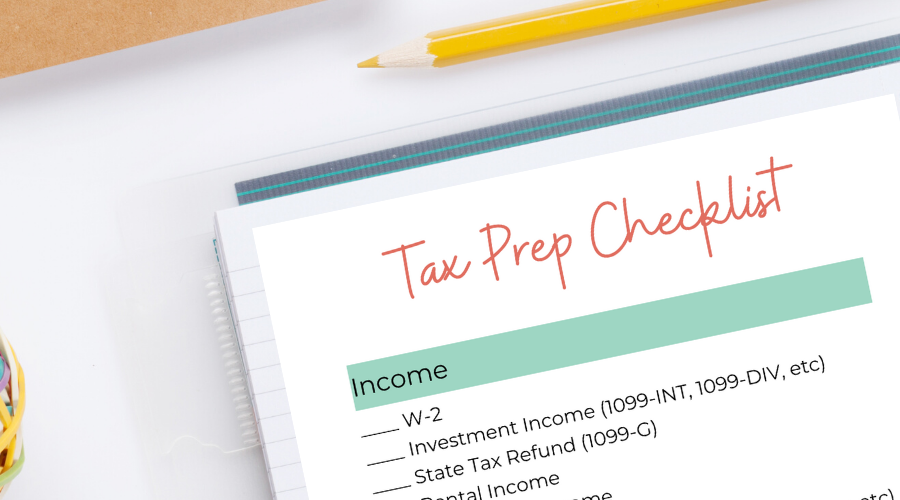 Tax Docs Checklist